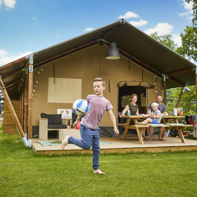5 persoons Glamping Tent